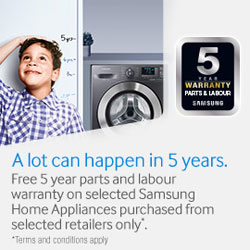 5 Year Home Appliance Warranty
